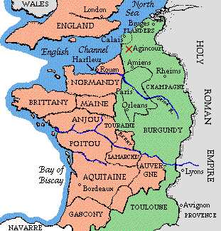Map Of France Over Time.English Possessions In France Life And Times Internet