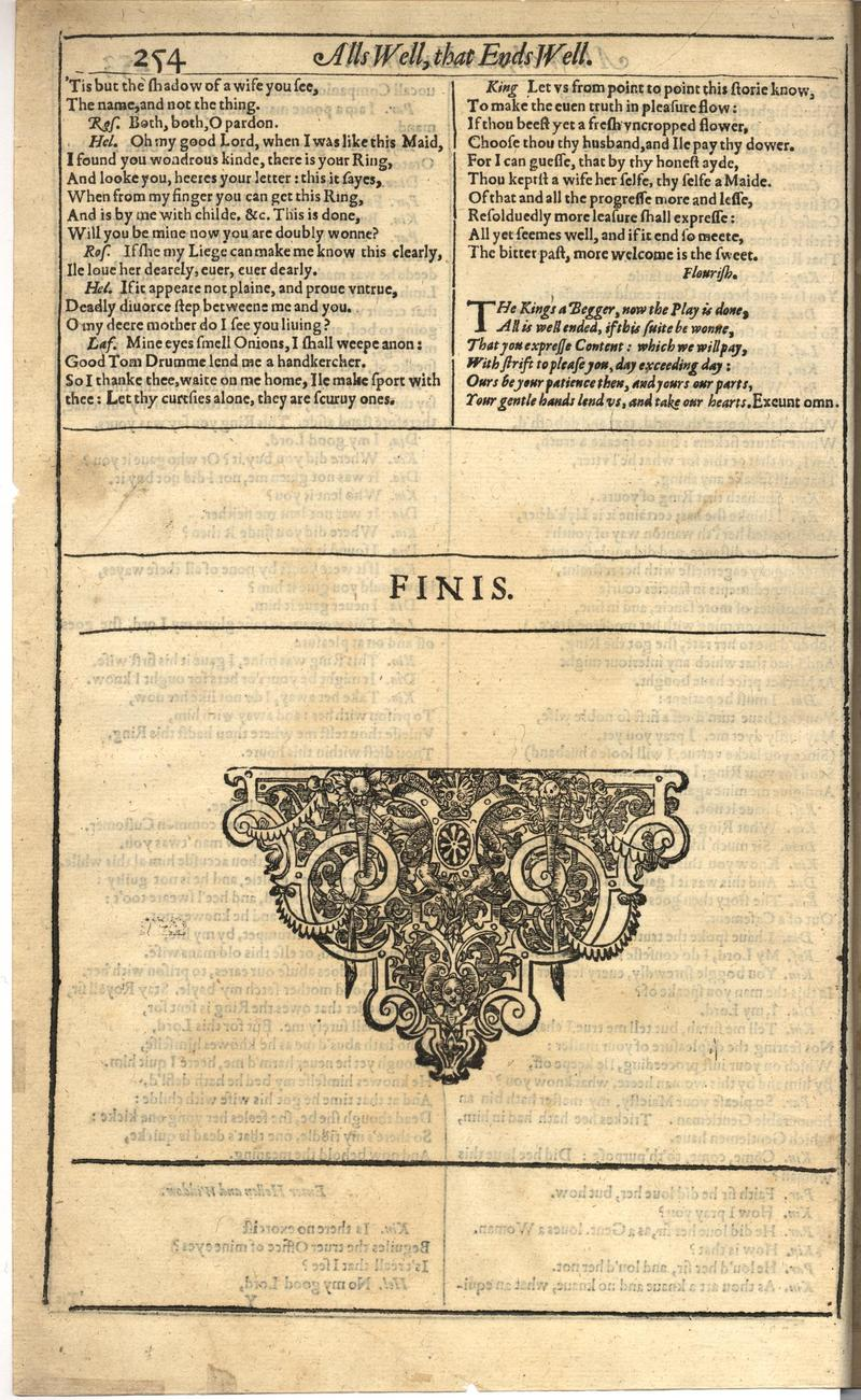 Image of First Folio (Brandeis University), page 272