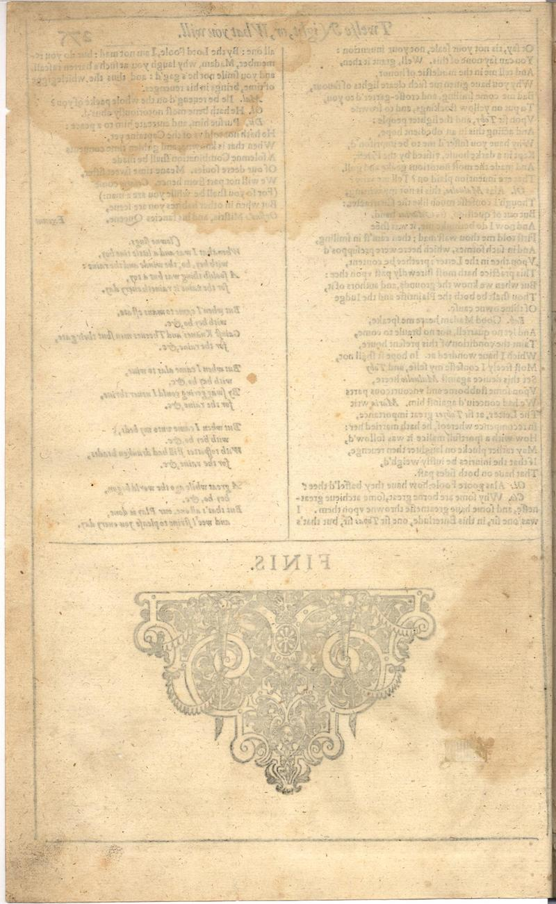 Image of First Folio (Brandeis University), page 294