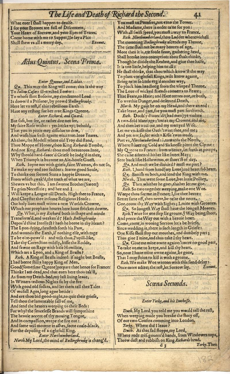 Image of First Folio (Brandeis University), page 363