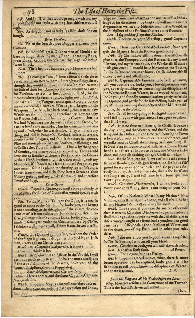 Image of First Folio (Brandeis University), page 432