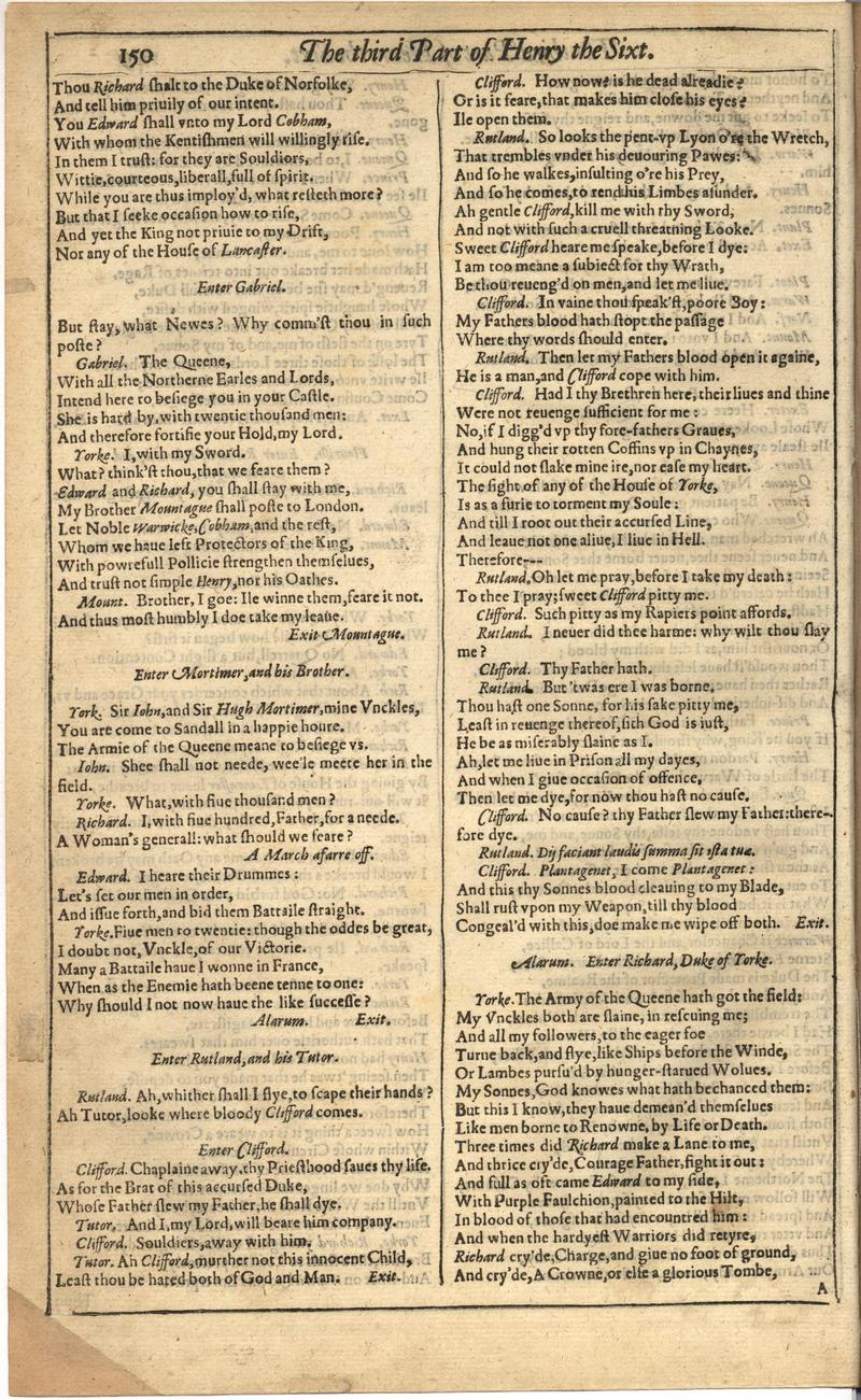 Image of First Folio (Brandeis University), page 504