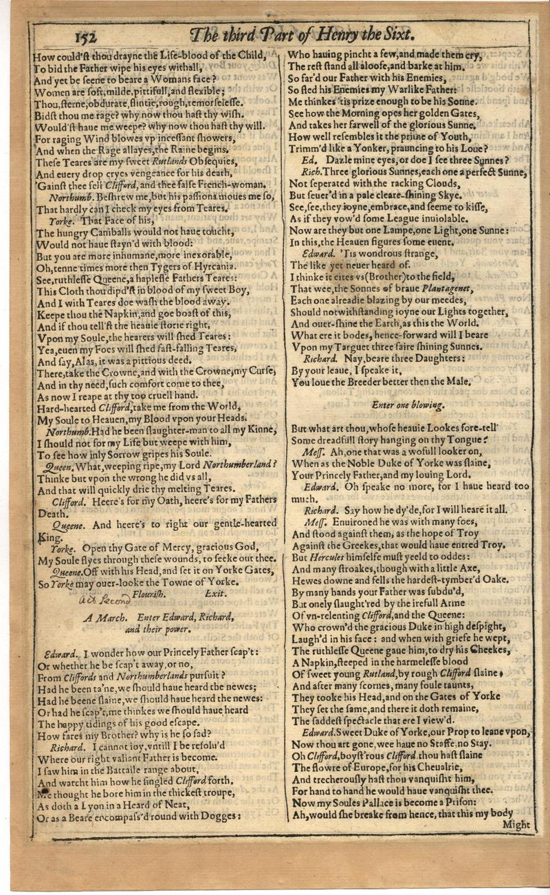 Image of First Folio (Brandeis University), page 506