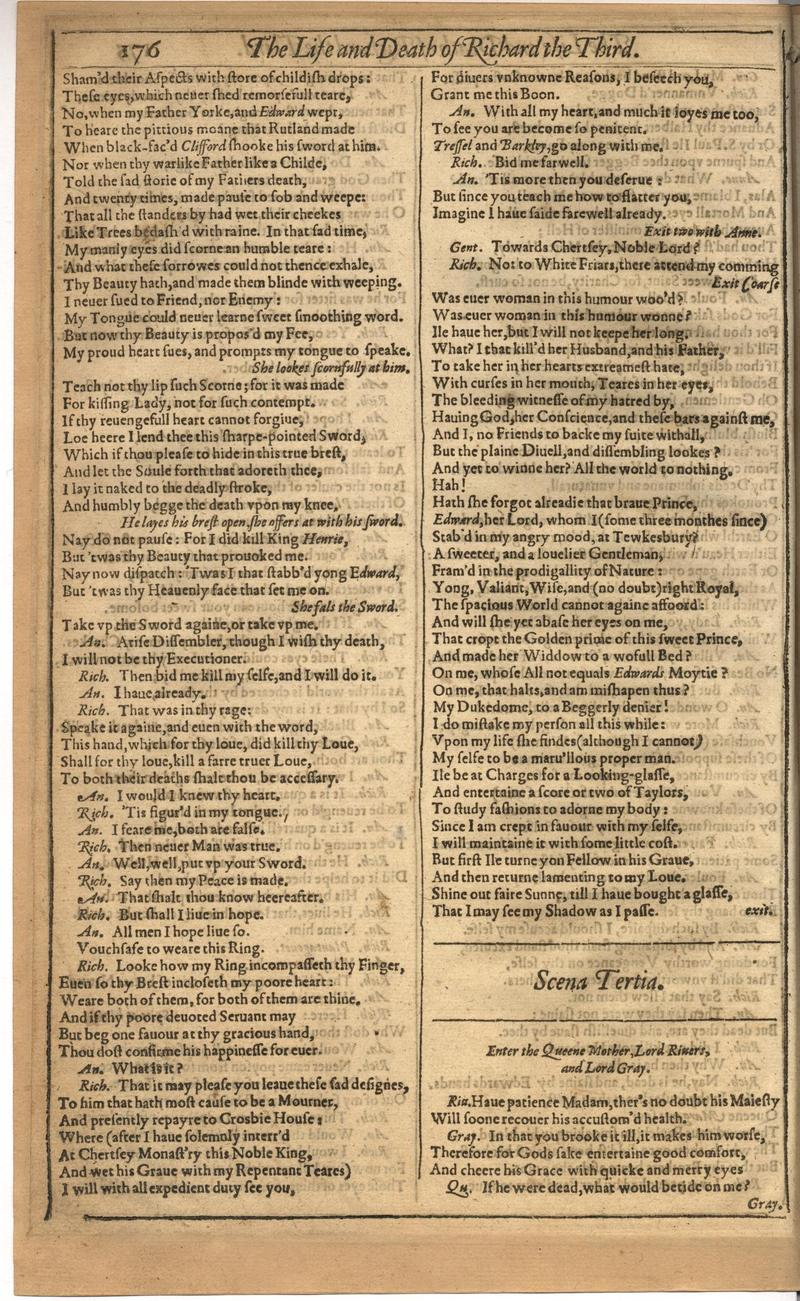 Image of First Folio (Brandeis University), page 530