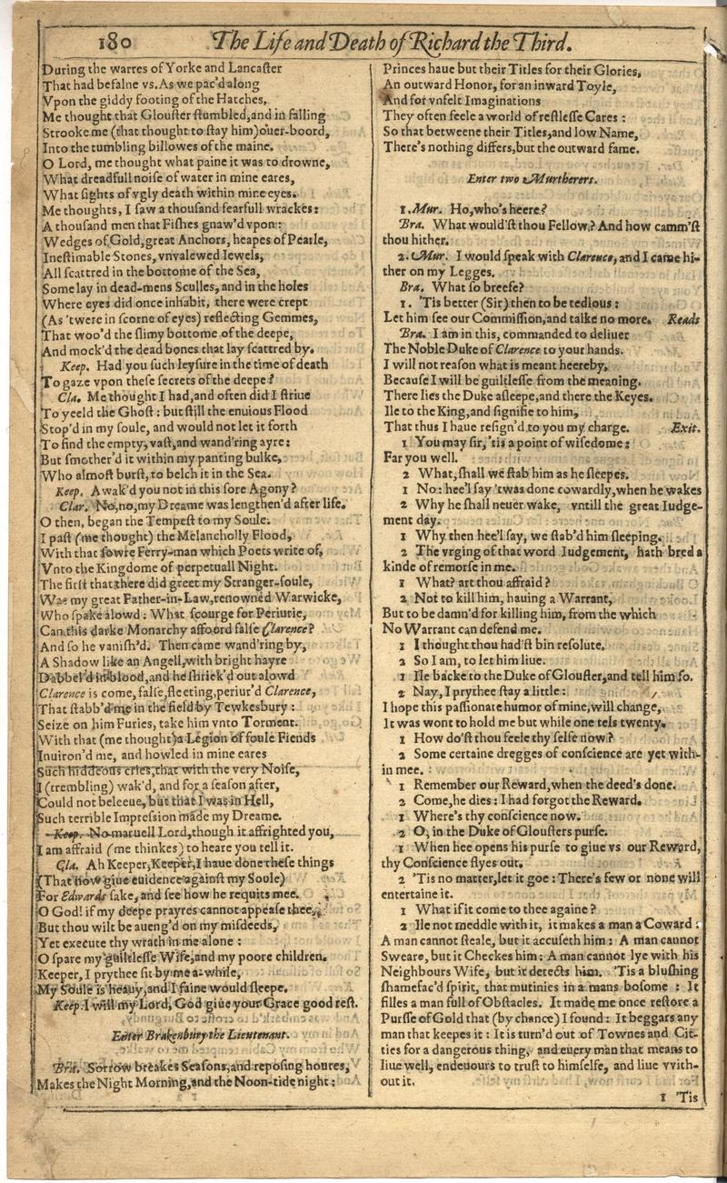 Image of First Folio (Brandeis University), page 534