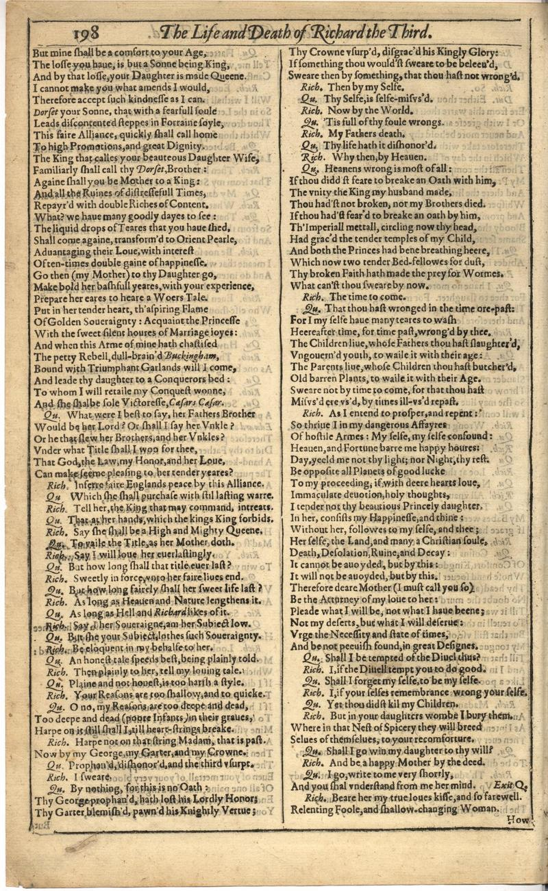 Image of First Folio (Brandeis University), page 552
