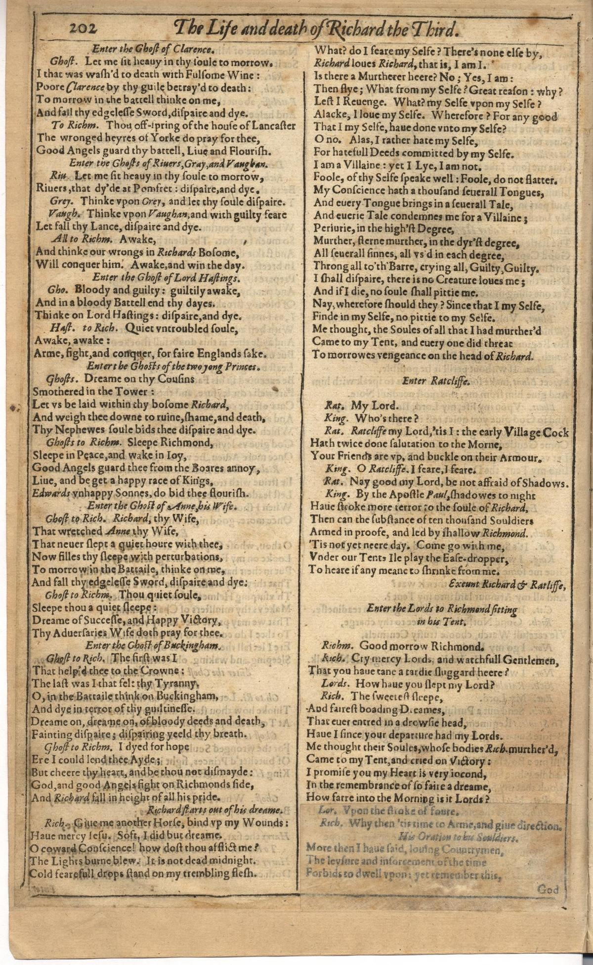 Image of First Folio (Brandeis University), page 556