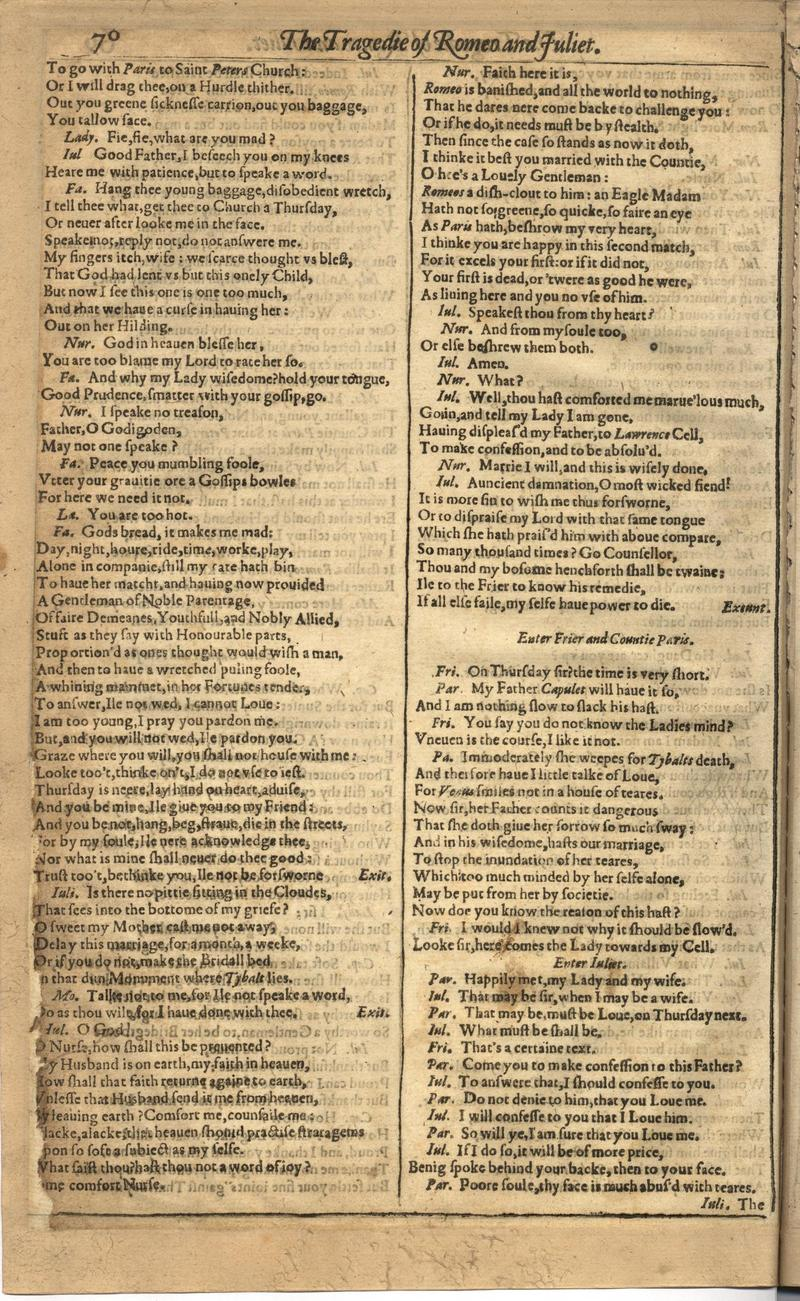 Image of First Folio (Brandeis University), page 686