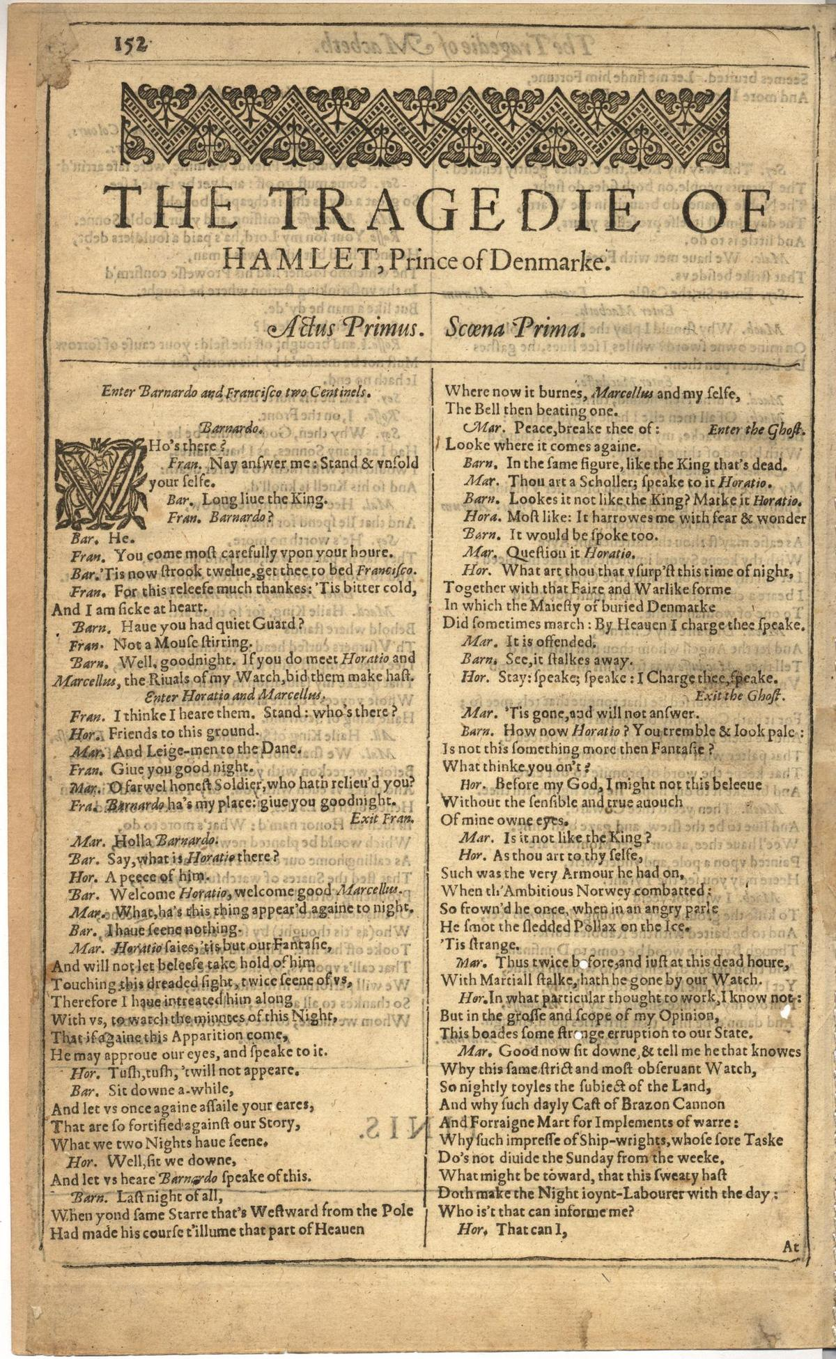 Image of First Folio (Brandeis University), page 760