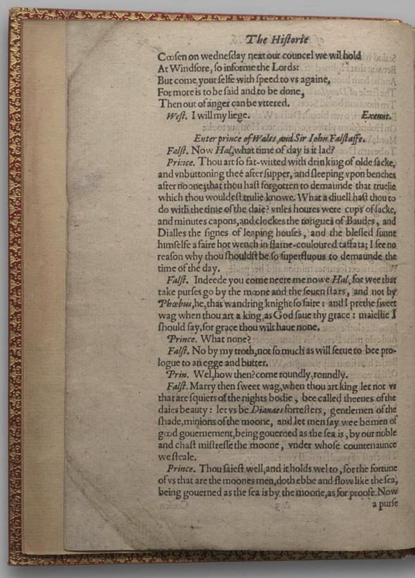 Image of Henry IV, Part I, Quarto 1 (Garrick), page 6