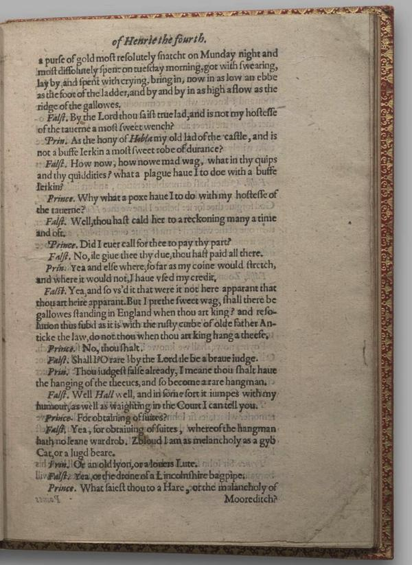 Image of Henry IV, Part I, Quarto 1 (Garrick), page 7