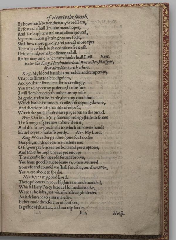 Image of Henry IV, Part I, Quarto 1 (Garrick), page 11