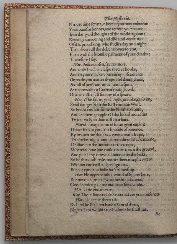 Image of Henry IV, Part I, Quarto 1 (Garrick), page 16