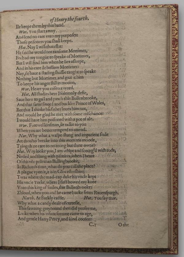 Image of Henry IV, Part I, Quarto 1 (Garrick), page 17