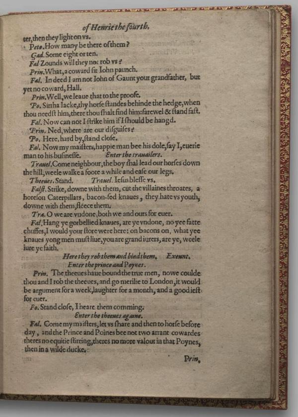 Image of Henry IV, Part I, Quarto 1 (Garrick), page 23