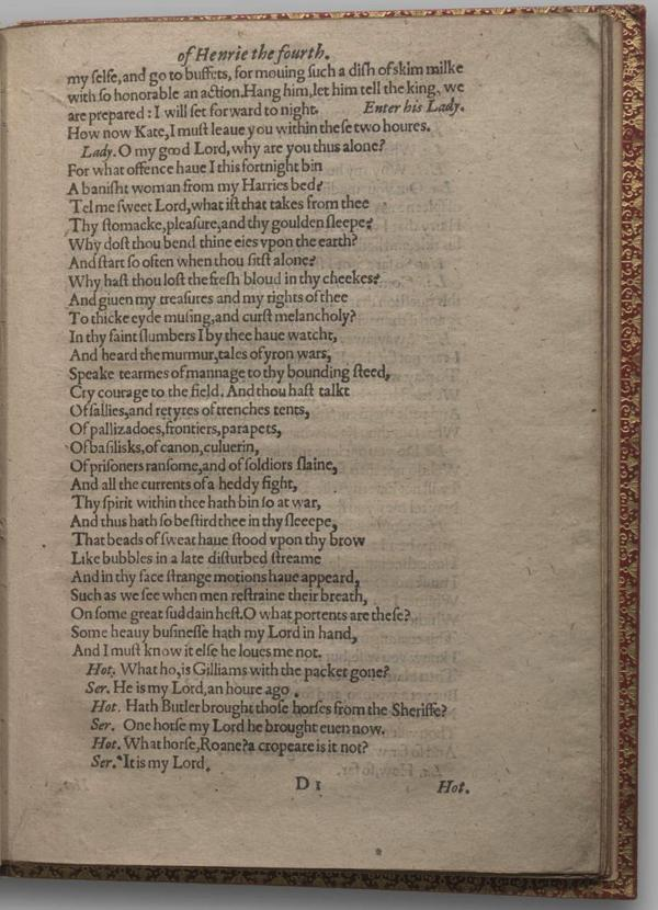 Image of Henry IV, Part I, Quarto 1 (Garrick), page 25