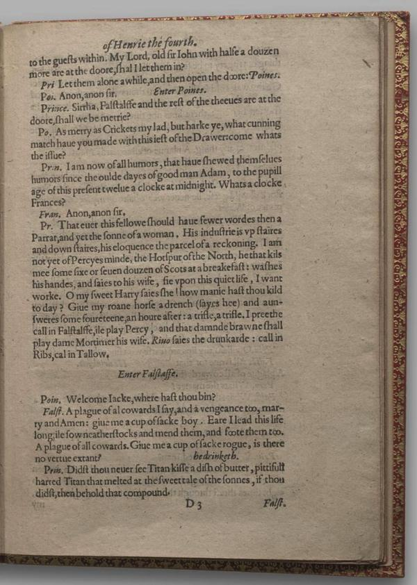 Image of Henry IV, Part I, Quarto 1 (Garrick), page 29