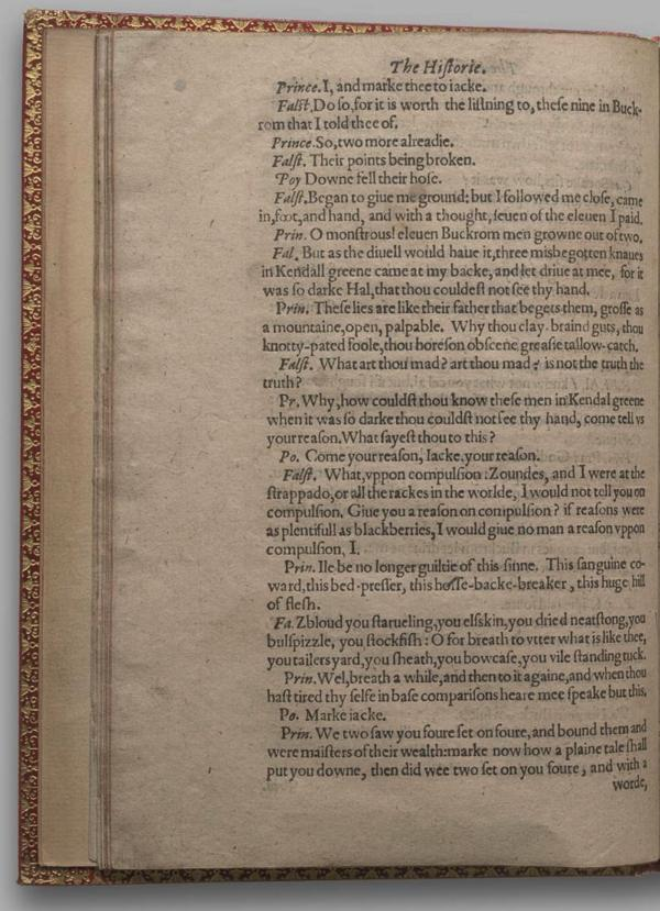Image of Henry IV, Part I, Quarto 1 (Garrick), page 32