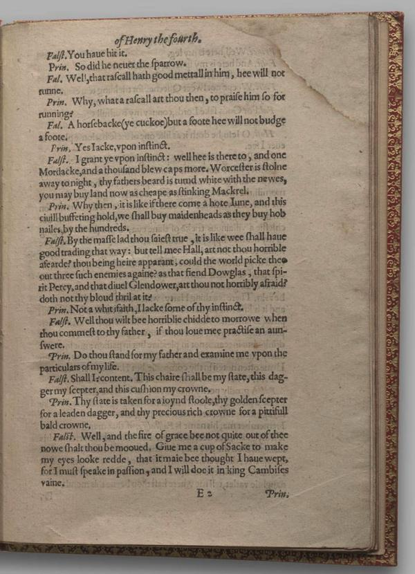 Image of Henry IV, Part I, Quarto 1 (Garrick), page 35