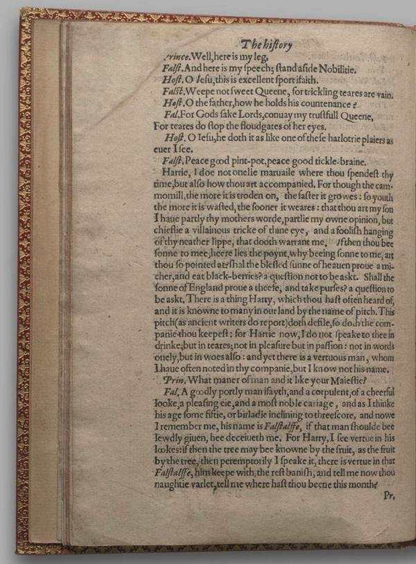 Image of Henry IV, Part I, Quarto 1 (Garrick), page 36