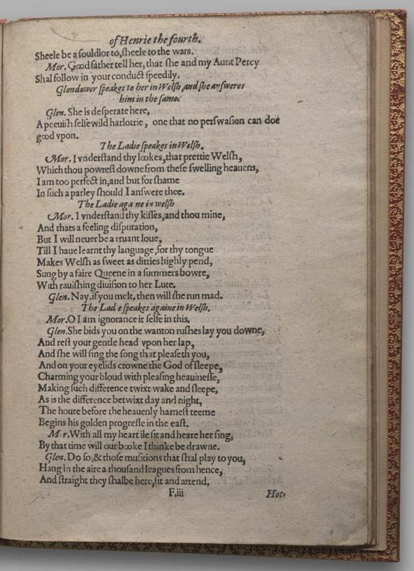 Image of Henry IV, Part I, Quarto 1 (Garrick), page 45