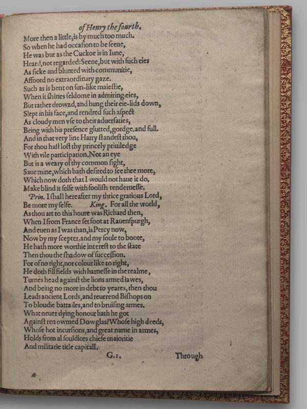 Image of Henry IV, Part I, Quarto 1 (Garrick), page 49
