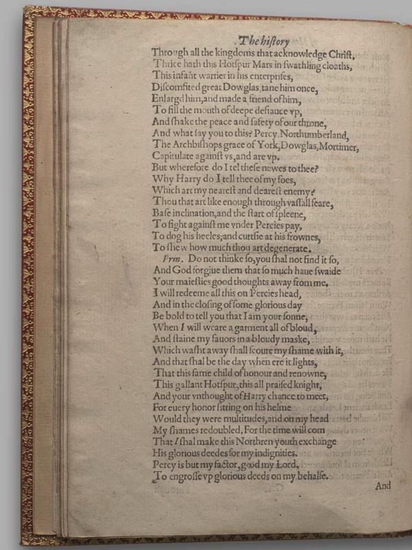 Image of Henry IV, Part I, Quarto 1 (Garrick), page 50