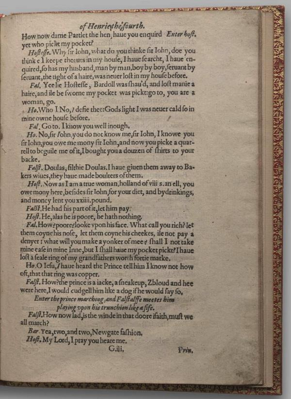 Image of Henry IV, Part I, Quarto 1 (Garrick), page 53