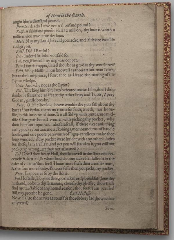 Image of Henry IV, Part I, Quarto 1 (Garrick), page 55