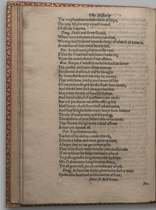 Image of Henry IV, Part I, Quarto 1 (Garrick), page 58