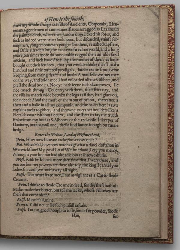 Image of Henry IV, Part I, Quarto 1 (Garrick), page 61