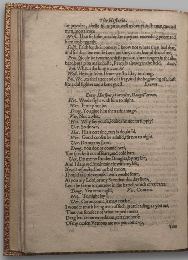 Image of Henry IV, Part I, Quarto 1 (Garrick), page 62