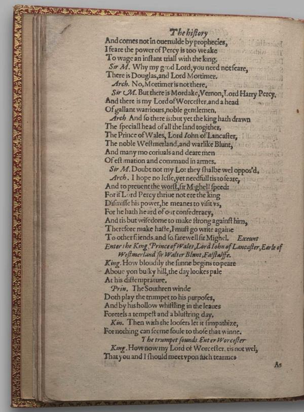 Image of Henry IV, Part I, Quarto 1 (Garrick), page 66