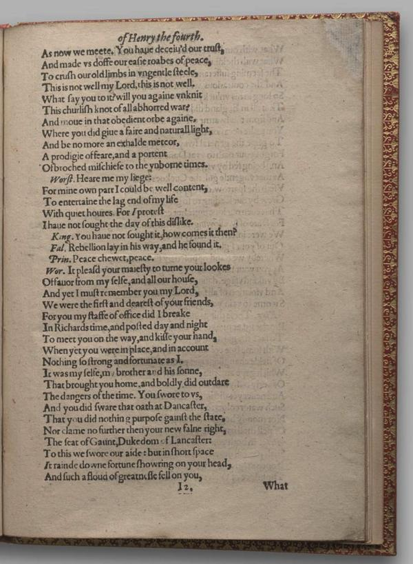 Image of Henry IV, Part I, Quarto 1 (Garrick), page 67