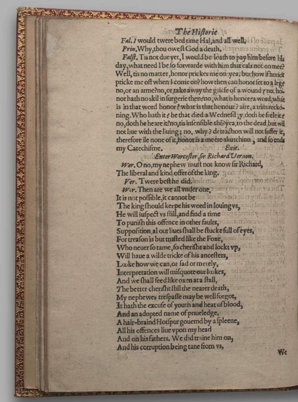 Image of Henry IV, Part I, Quarto 1 (Garrick), page 70