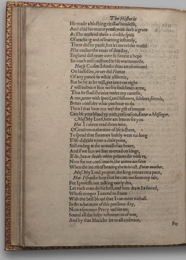 Image of Henry IV, Part I, Quarto 1 (Garrick), page 72