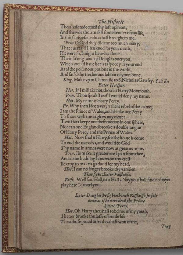 Image of Henry IV, Part I, Quarto 1 (Garrick), page 76