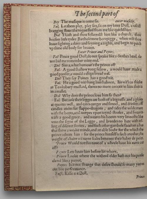 Image of Henry IV, Part 2, Quarto 1 (Halliwell-Phillipps), page 2
