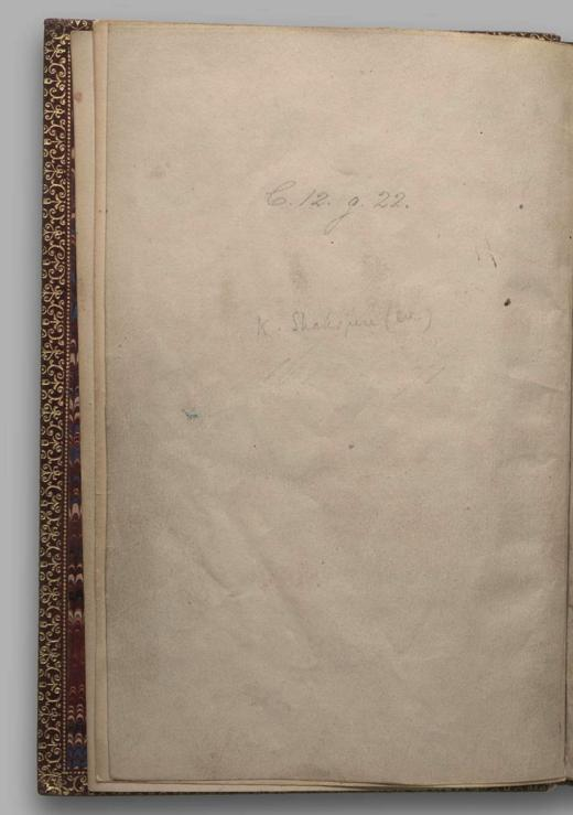 Image of Henry V, Quarto 1 (George III), page -1
