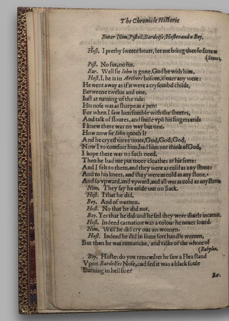 Image of Henry V, Quarto 1 (George III), page 16