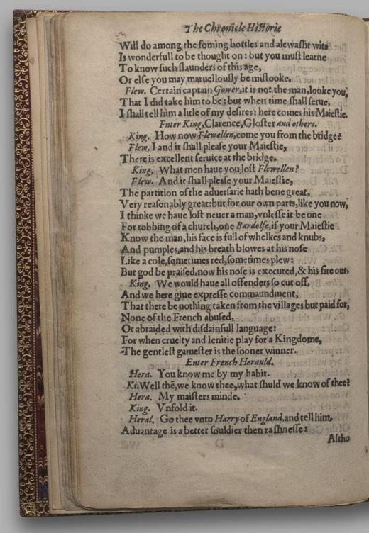 Image of Henry V, Quarto 1 (George III), page 26