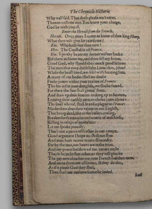 Image of Henry V, Quarto 1 (George III), page 36