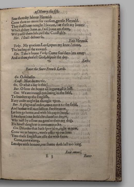 Image of Henry V, Quarto 1 (George III), page 37