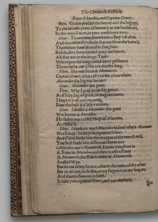 Image of Henry V, Quarto 1 (George III), page 44