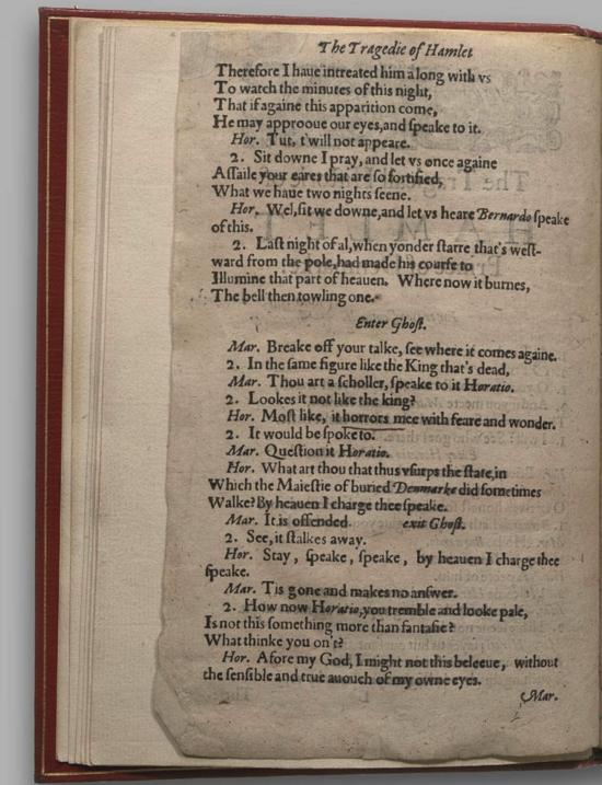 Image of Hamlet, Quarto 1 (Halliwell-Phillipps), page 2