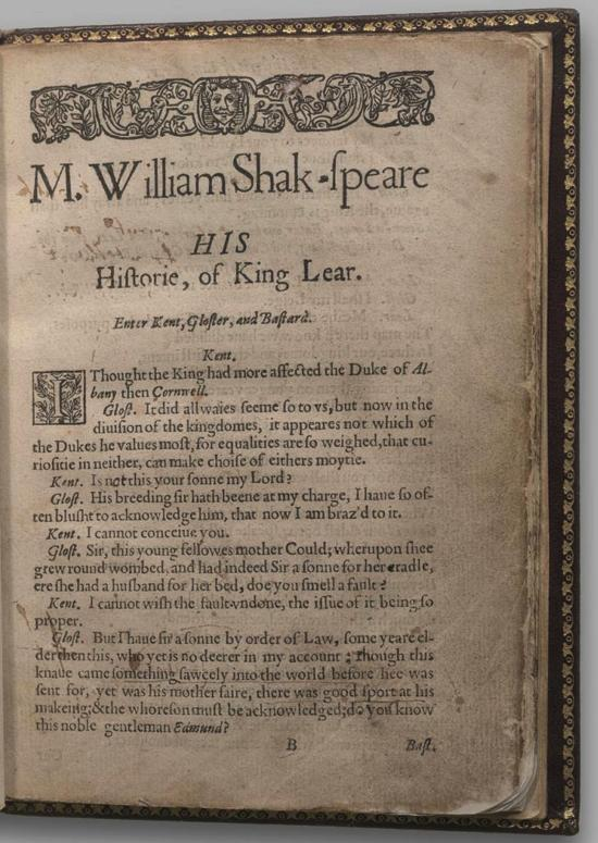 Image of King Lear, Quarto 1 (Halliwell-Phillipps (Alternate)), page 3
