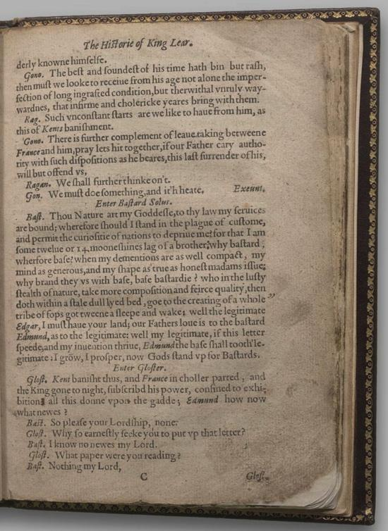 Image of King Lear, Quarto 1 (Halliwell-Phillipps (Alternate)), page 11