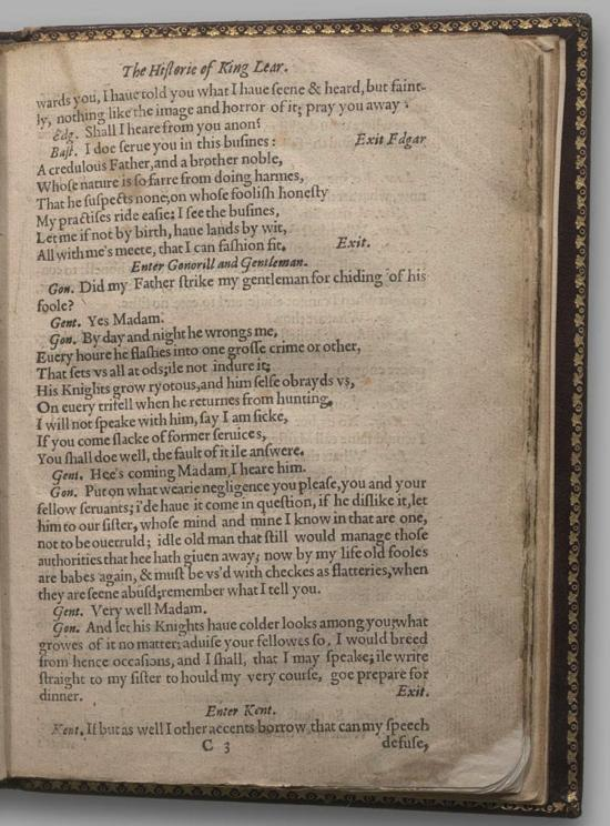 Image of King Lear, Quarto 1 (Halliwell-Phillipps (Alternate)), page 15