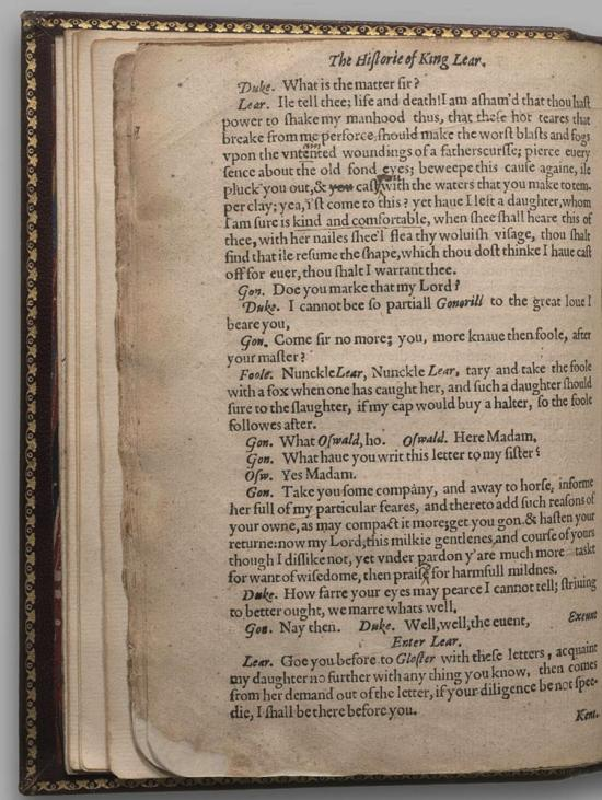 Image of King Lear, Quarto 1 (Halliwell-Phillipps (Alternate)), page 22