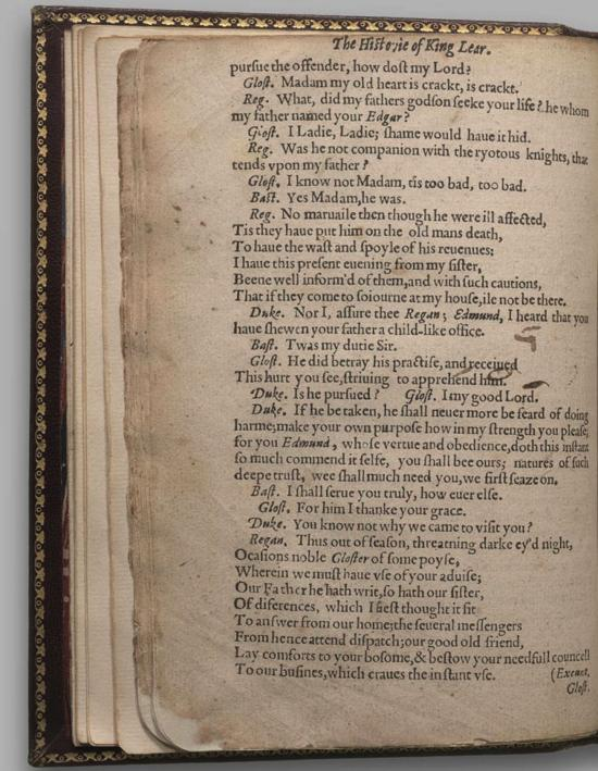 Image of King Lear, Quarto 1 (Halliwell-Phillipps (Alternate)), page